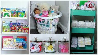 DIY Nursery Decor + Organization Ideas! | Easy Nursery Decor