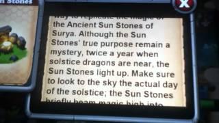 Dragonvale sun stones meaning