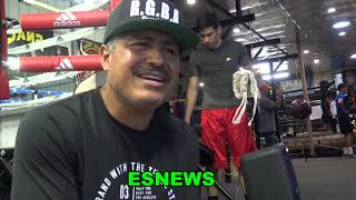 Robert Garcia: Loma Needs To Come Train In My Gym Lots Of Good Sparring (With His Dad Of Course)