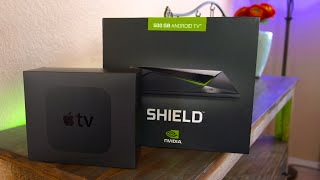 Apple TV (2015) vs NVIDIA Shield TV - Comparison & Review!
