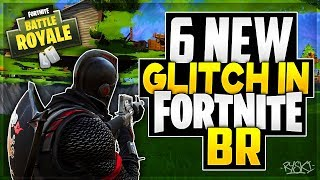 Fortnite BR Glitches: 'NEW' The 6 Best Glitchs in Battle Royale, God Mod! @EpicGames!