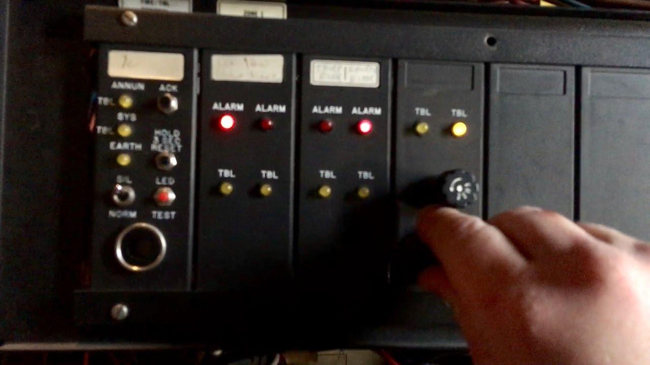 Simplex 2001-8032 Panel Demo