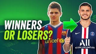 Leaving barcelona isn't an easy decision, so how have these 10 players fared in their careers since camp nou? matt looks at la masia academy gr...