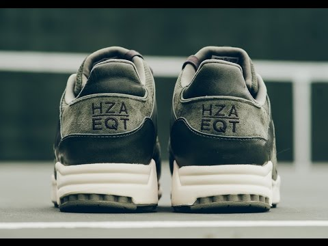 "1a6a0db1ebf3 adidas EQT Running Support 93 ""HZA"" - YouTube"