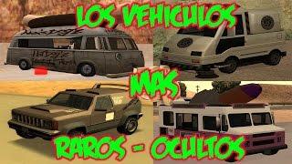 GTA San Andreas Todo lo que siempre quisiste saber sobre Los vehículos mas raros/Autos ocultos