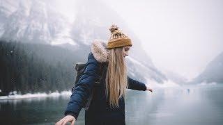 Winter in Banff.