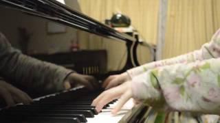ドラマのBGMより、21曲目「透明な鳥籠」をピアノで弾いてみました。 耳...