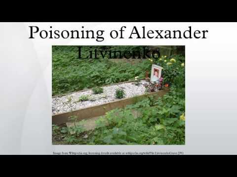 Poisoning of Alexander Litvinenko