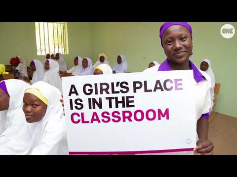 ONE Campaign members take ACTION for girls' education // The ONE Campaign