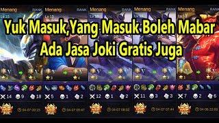 Download 🔴[LIVE]PLAYER ASSASSIN,YANG MAU MABAR SILAHKAN MASUK YA,ADA JASA JOKI GRATIS JUGA. Mp3 and Videos