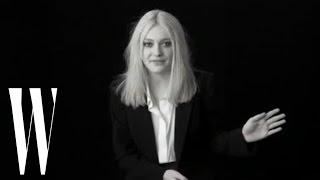 Dakota Fanning on 'I Am Sam', The Runaways, and High School Experiences | Screen Tests | W Magazine