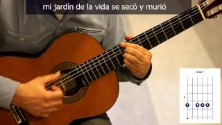 "Cómo tocar ""Flor de lis"" de Ketama (original Djavan) / How to play ""Flor de Lis"" on guitar"