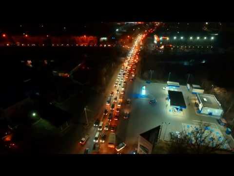 Bishkek night (kyrgyzstan)