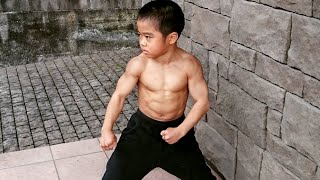 The Strongest Kid in the World! You Don't Want to Mess With Him...