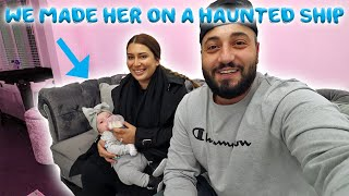 WE MADE OUR BABY ON THE HAUNTED QUEEN MARIE SHIP!
