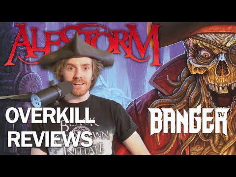 ALESTORM Curse of the Crystal Coconut Album Review | Overkill Reviews