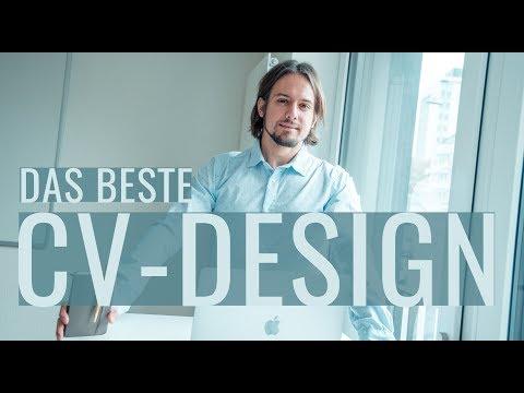 Bewerbung: Das Beste CV Design. Welche Farben, Welche Vorlagen?