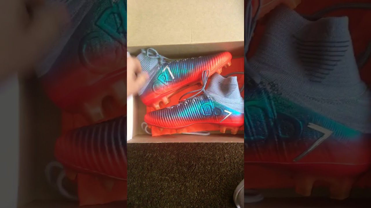 sneakers for cheap first rate release info on Unboxing Teaser!! New Nike Mercurial Superfly V CR7, metallic wolf grey.
