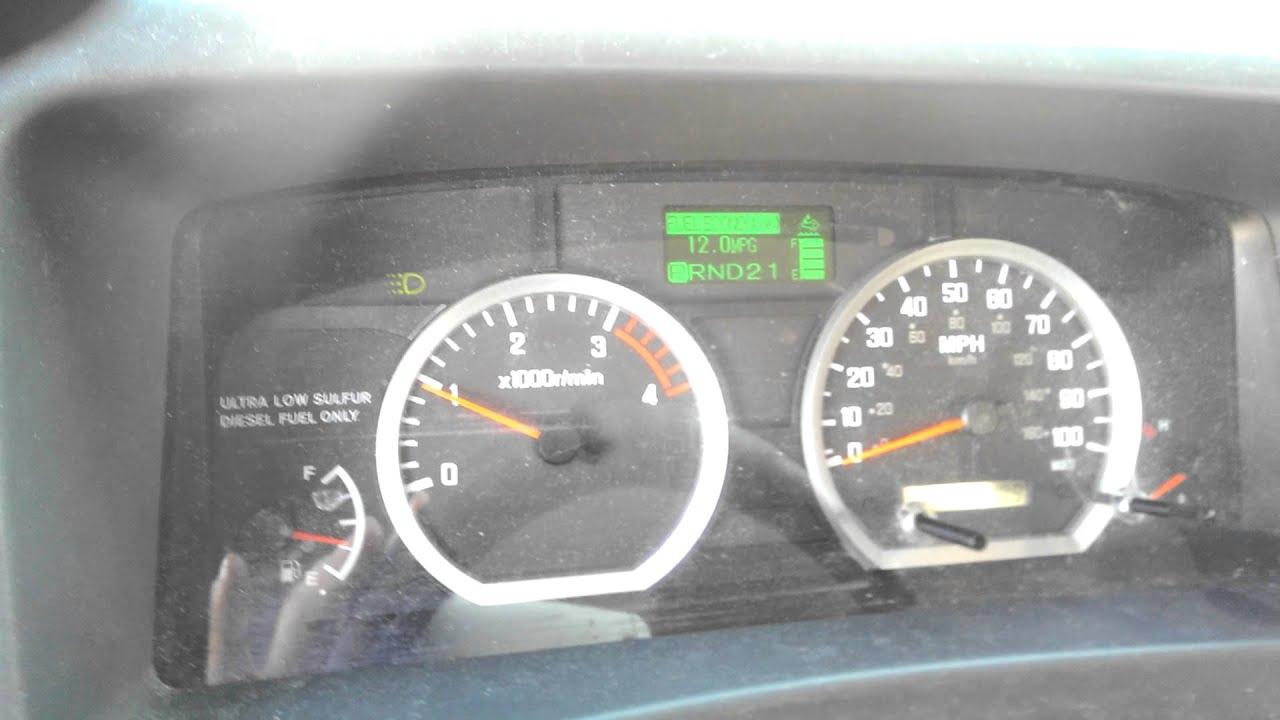 2012 Isuzu NPR 5 2L Turbo-Diesel Cold Start & Idle