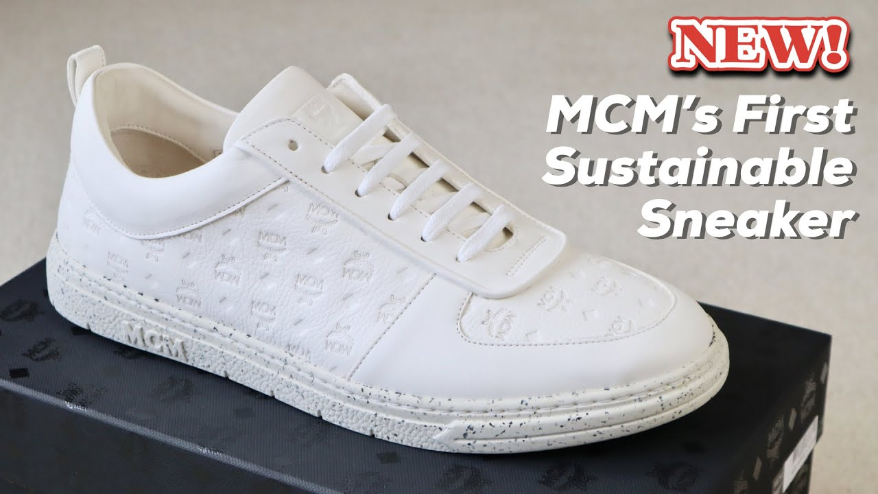New MCM Sustainable Terrain Lo Sneakers Review