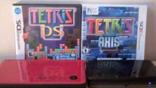 Tetris DS vs. Tetris Axis