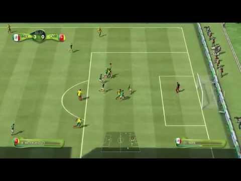 Primer Gameplay FIFA World Cup Brazil 2014 (México vs Camerún) - XBOX 360