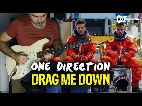 One Direction - Drag Me Down - Electric Guitar Cover by Kfir Ochaion