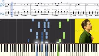 Charlie Puth - Dangerously (Synthesia Piano Tutorial w/Lyrics)