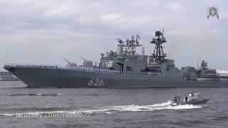 Главный Военно-морской парад в Кронштадте / Russian NAVY parade. Kronshtadt