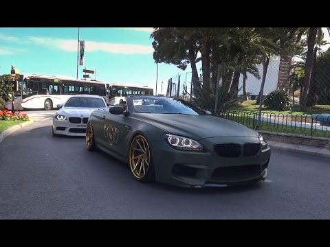 BMW ///M-Power Compilation Monaco Top Marques 2016