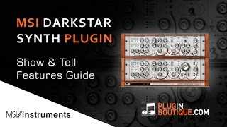 Minimal System Instruments DarkStar Synth Plugin - Features Overview