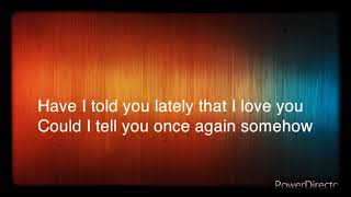 Jim Reeves - Have I told you lately that i Love you YouTube Videos