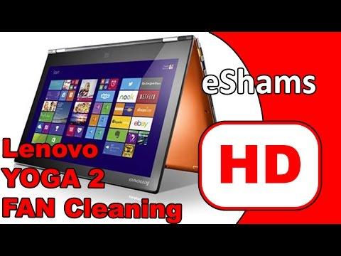 Lenovo Yoga 2 13 Fan Cleaning Youtube
