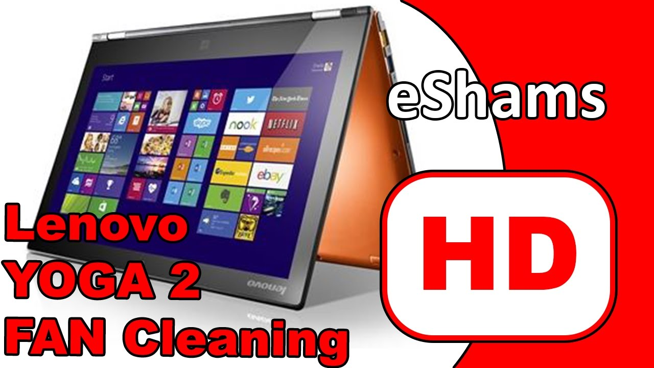 Lenovo Yoga 2 13 Fan Cleaning