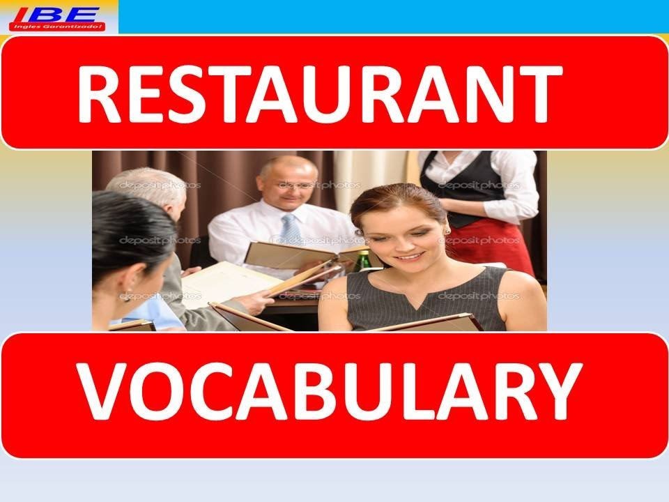 Restaurant Kitchen Vocabulary english lesson 10 describing a restaurant experience vocabulary
