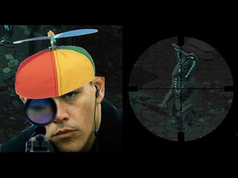 Mentally Challenged Sniper build showcase Quad naga + Praetorian + Port Zenith Underrail |Dominating |