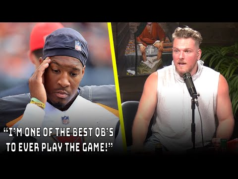 "Pat McAfee Reacts To Jameis Winston Saying He's ""One Of The Best QBs To Play The Game"""