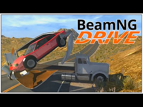 INSANO Crazy Testing. (BeamNG.drive Crash Testing #03)
