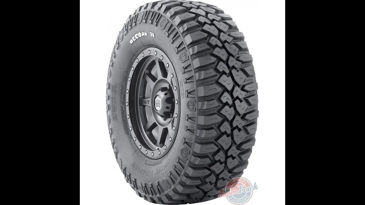 Mickey Thompson Deegan 38™ tire @ SuperTruckUSA.com - YouTube