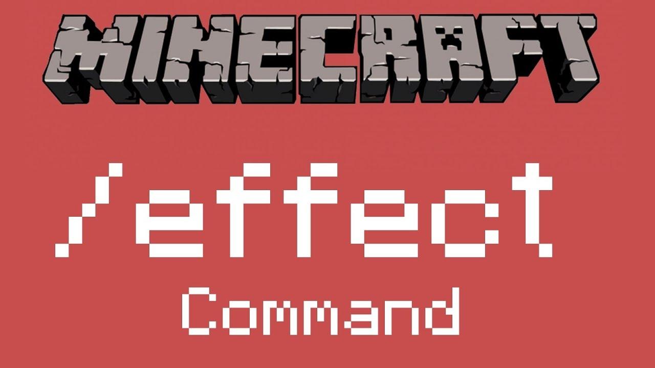 Minecraft - Wie funktioniert der /effect Command? ᴴᴰ - YouTube