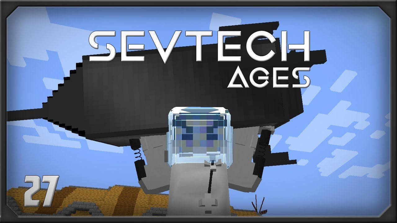 SevTech Ages EP27 Starting Galacticraft - SystemCollapse