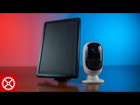 reolink-argus-2-and-solar-panel-review---wireless-camera-system-for-home-security