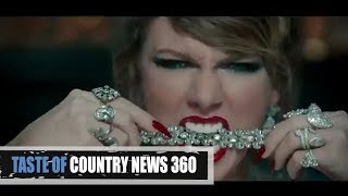 is taylor swifts look what you made me do her best shade yet?   taste of country news 360