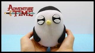 Adventure Time Gunter Plush Doll Tutorial !