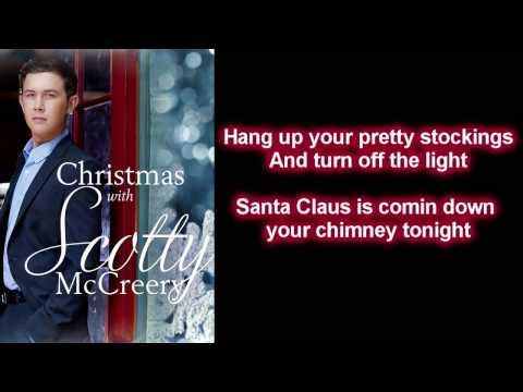 Scotty McCreery - Santa Claus Is Back In Town (Lyrics)