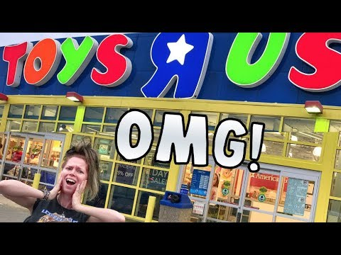R.I.P Toys R' Us! -  Follow Me Around