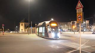 New tram in Luxembourg