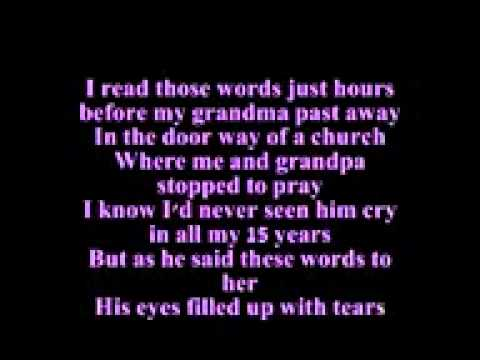 Collin Raye   If you get there before I do   lyrics