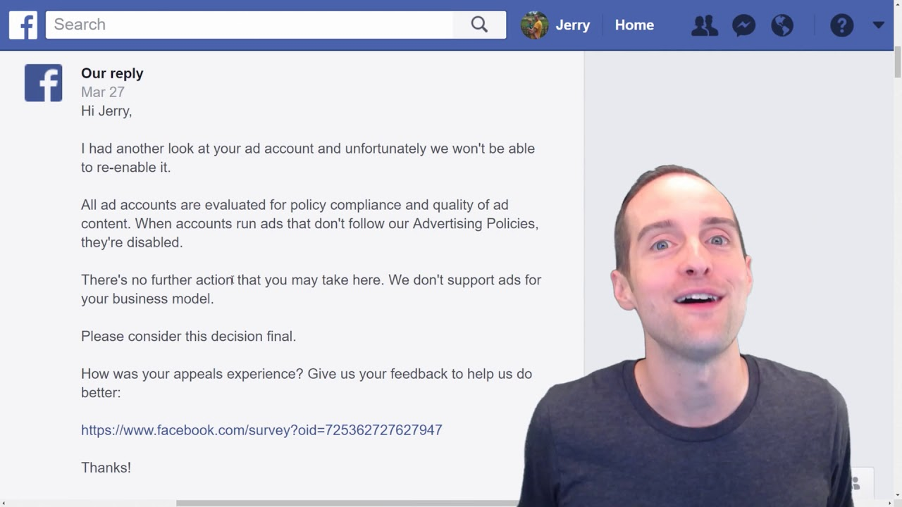 Facebook Disables My Ad Account After $120,502 in Advertising Budget +  Rejects Appeal!