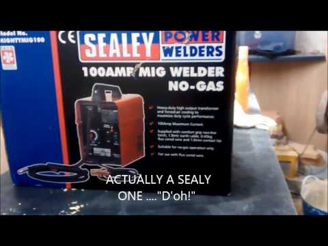 SEALEY MIGHTY 100 E BAY PURCHASE  UNBOXING AND SET UP.
